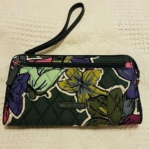 Vera Bradly - Wristlet Wallet - Falling Flowers